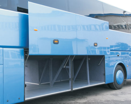 Pneumatic Bus Luggage Door System For Coach And Tour Bus